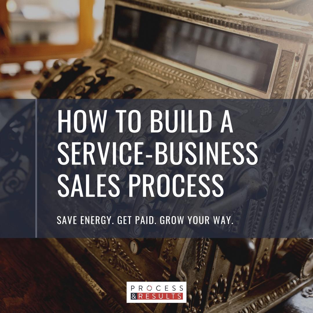 Service Business Sales Process